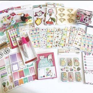 Planner Sticker and Accessories Bundle